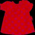 Kleid Dotty Gr. S (30-33-cm)
