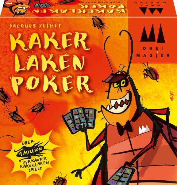 SCHMIDT-SPIELE & SELECTA Drei Magier®: Kakerlaken-Poker