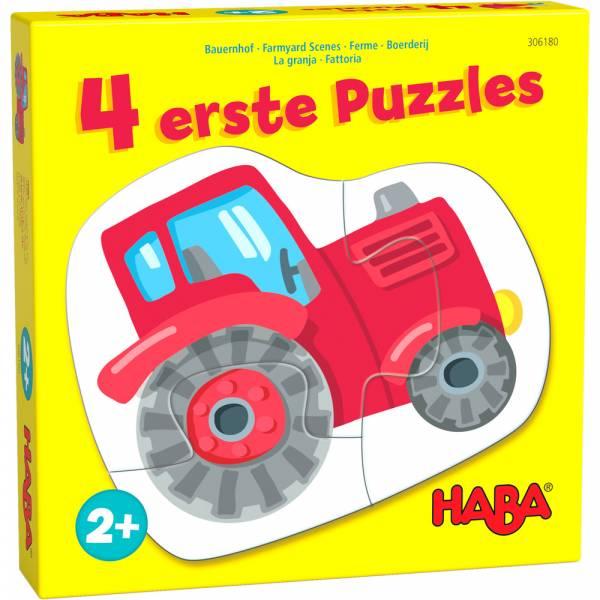 HABA 4 erste Puzzles – Bauernhof
