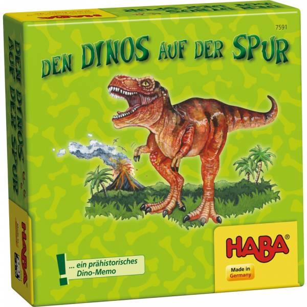 Spiel Dinos auf der Spur