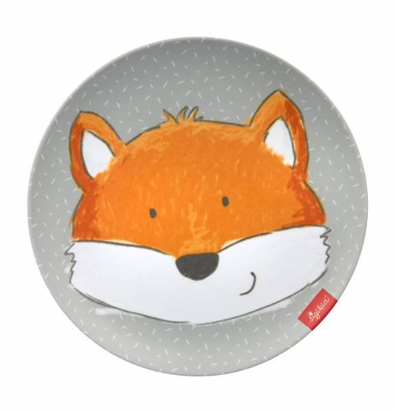 SIGIKID Melamin Kinderteller Fuchs