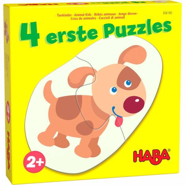 HABA 4 erste Puzzles – Tierkinder