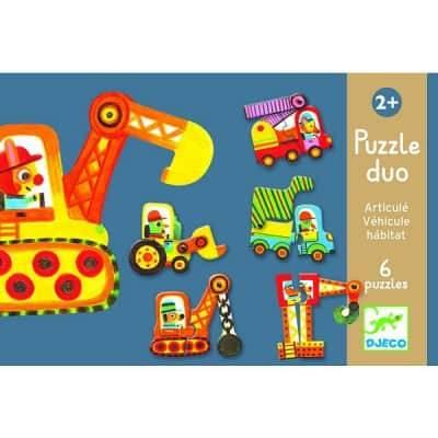Duo Puzzle Fahrzeuge