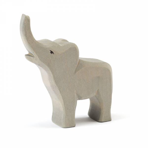 Elefant klein trompetend
