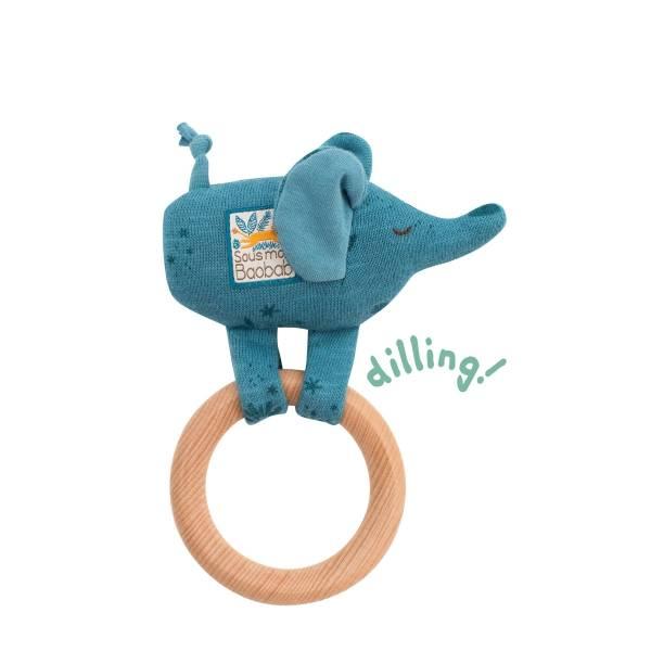 MOULIN ROTY Ringrassel Elefant