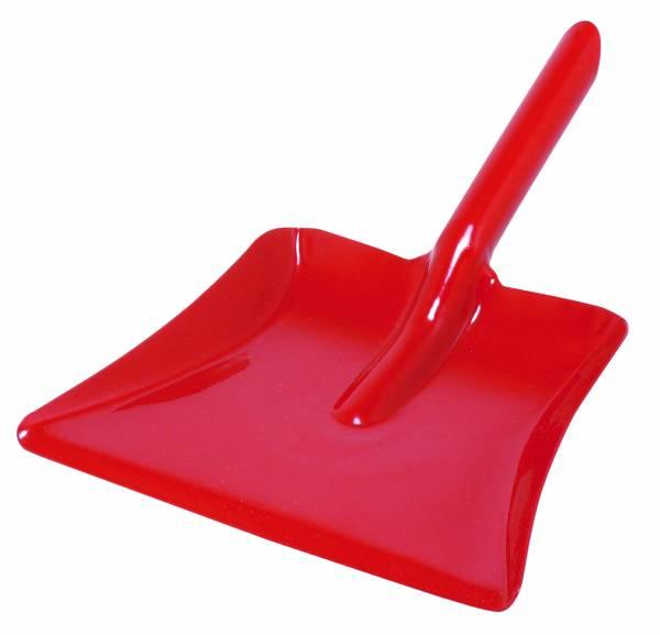 Kehrschaufel (Metall) ,rot