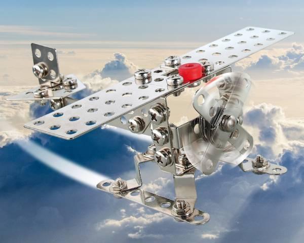 EITECH Flugzeug/Helikopter Metallbaukasten