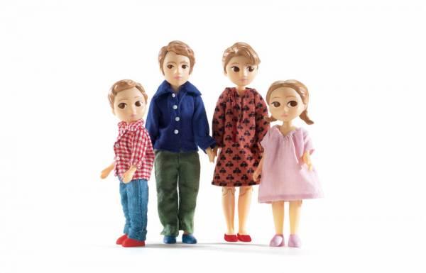 DJECO Puppenhaus: Familie von Thomas & Marion