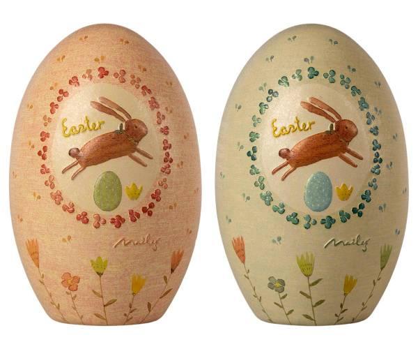 MAILEG Ostereier in zwei Farben (Metall) zum Befüllen