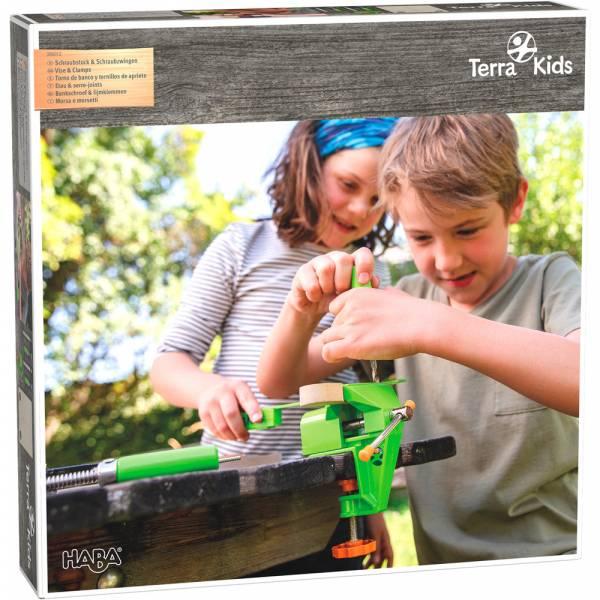 HABA Terra Kids Schraubstock & Schraubzwingen