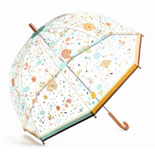 """DJECO Regenschirm """"Kleine Blumen"""" (für Erwachsene)"""