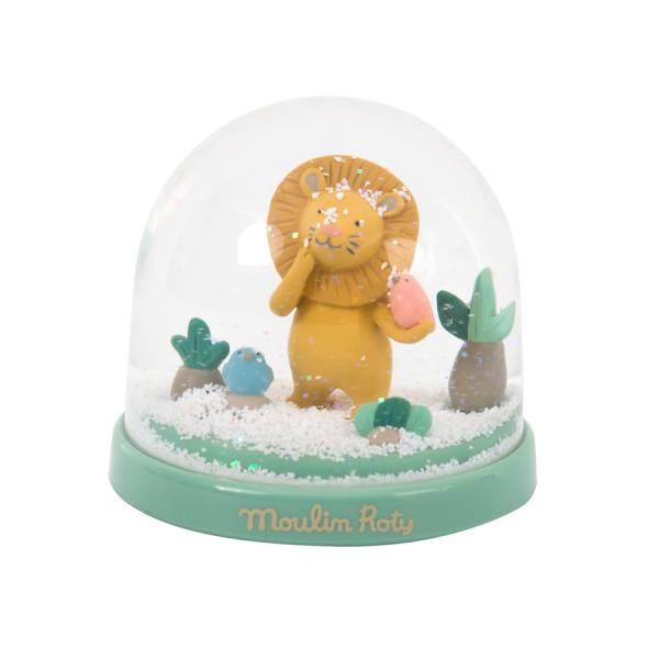 MOULIN ROTY Schneekugel Löwe