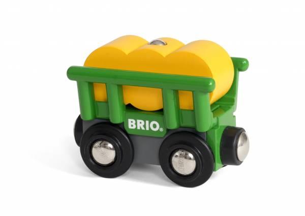 BRIO Heuwagen mit Kippfunktion