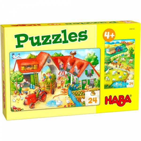 HABA Puzzle Bauernhof