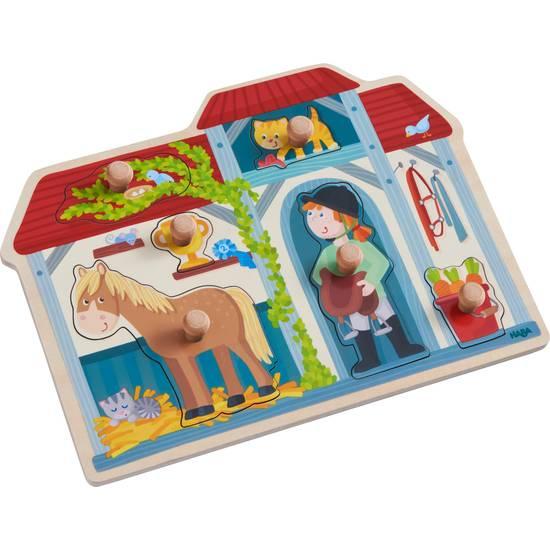 Greifpuzzle Im Pferdestall