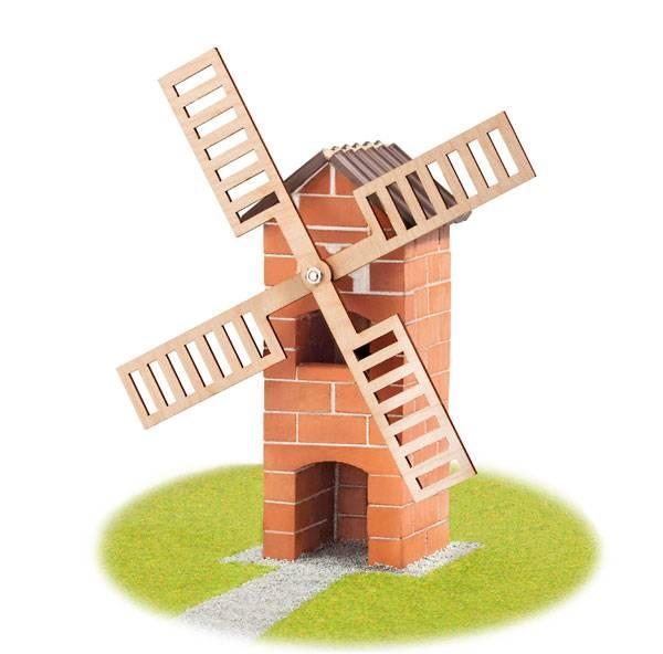 "TEIFOC Steinbausatz ""Windmühle"""