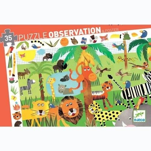 "Such-Puzzle ""Dschungel"" (35 Teile)"