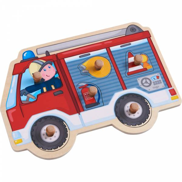 Greifpuzzle Feuerwehrauto