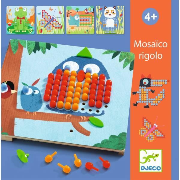 DJECO Lernspiel Mosaico Rigolo