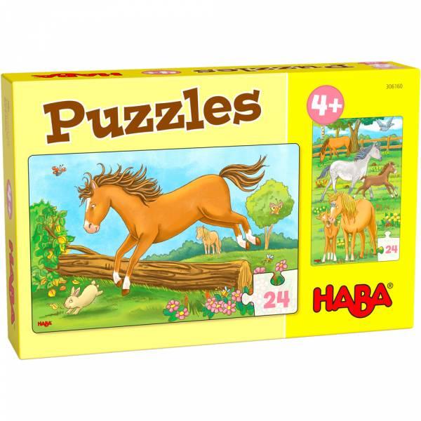 HABA Puzzles Pferde