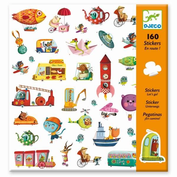 DJECO 160 Sticker: Let's go !