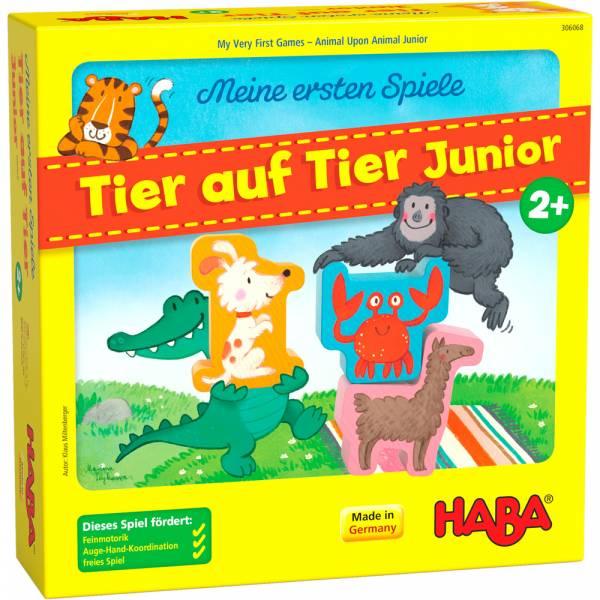 HABA Meine ersten Spiele – Tier auf Tier Junior