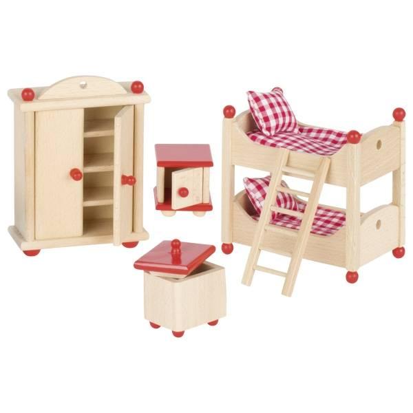 "Puppenstubenmöbel ""Kinderzimmer"""