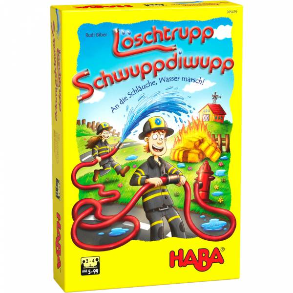 HABA Löschtrupp Schwuppdiwupp