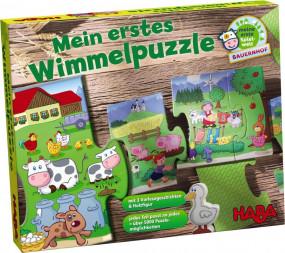 Mein erstes Wimmelpuzzle - Bahnhof