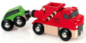Abschleppwagen mit Auto