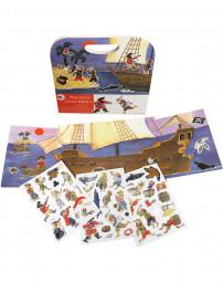 Magnetspiel Pirat