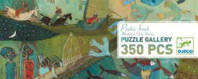 Puzzle Galerie: Poet boat (350 Teile)