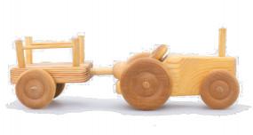 Traktor mit Anhänger klein