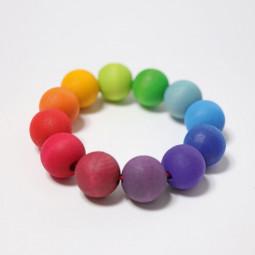 Greifling Regenbogen Perlenring