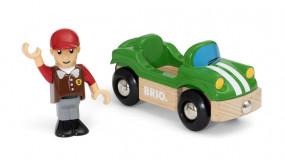 Sportwagen mit Fahrer