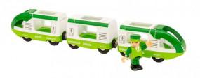 Grüner Reisezug