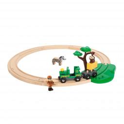 Safari Bahn-Set Holzeisenbahn