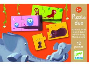 Duo Puzzle: Mama und Kind