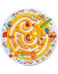 Magnetspiel Maulwurflabyrinth