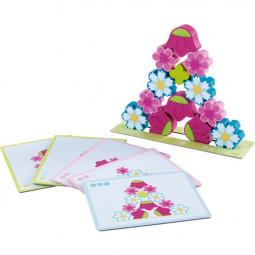 Stapelspiel Blumenzauber