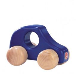 Holzauto groß blau