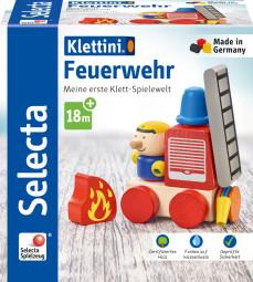 Klettini® Feuerwehr, Klett-Stapelspielzeug
